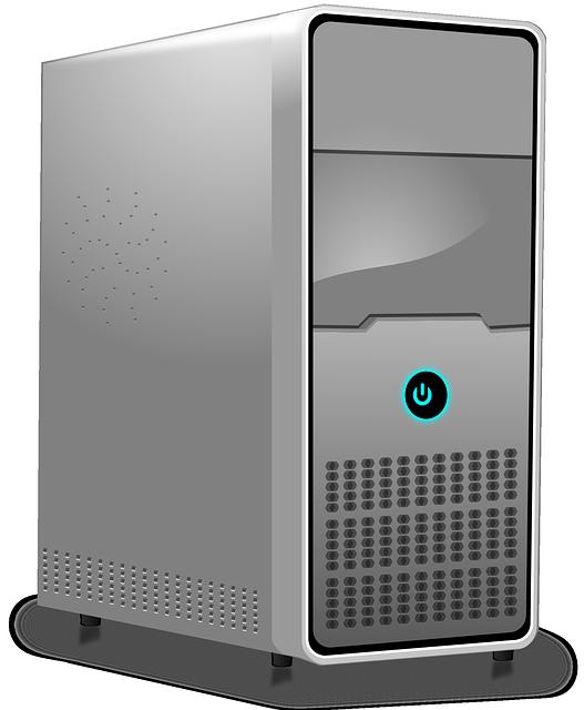 Computer, Server, Workstation, Hosting