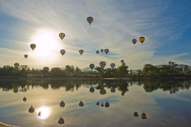 Hot Air Balloon, Balloon And Wine Festival