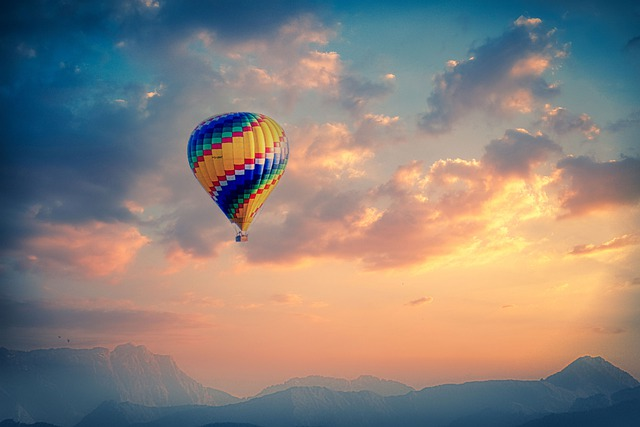 Balloon, Hot Air Balloon, Hot Air Balloon Ride, View