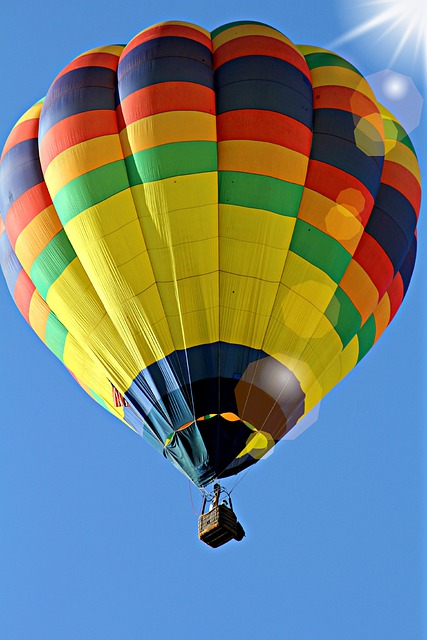 Hot, Air, Balloon, Hot Air Balloon Ride