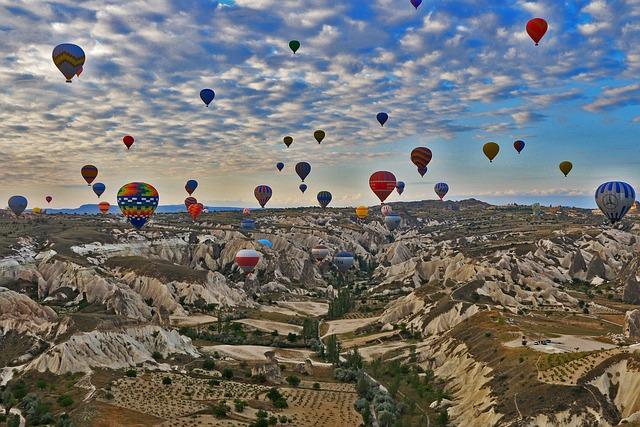 Cappadocia, Travel, Turkey, Hot Air Balloon