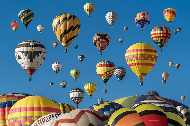 Hot Air Balloons, Adventure, Balloons, Colorful