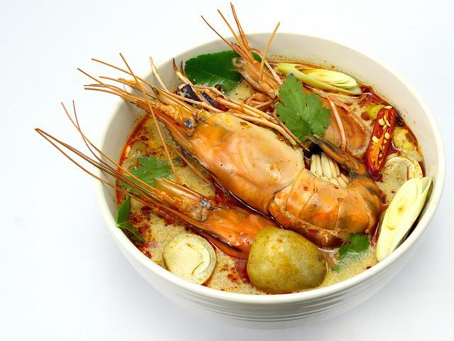Tom Yum Goong, Hot And Sour Soup, Thailand Food