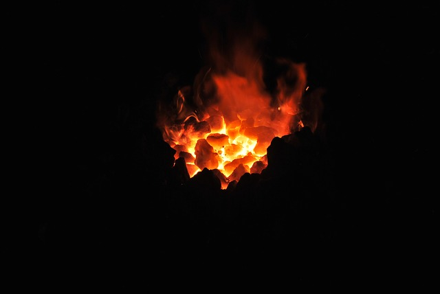 Fire, Embers, Heat, Hot, Craft, Blacksmith, Workshop
