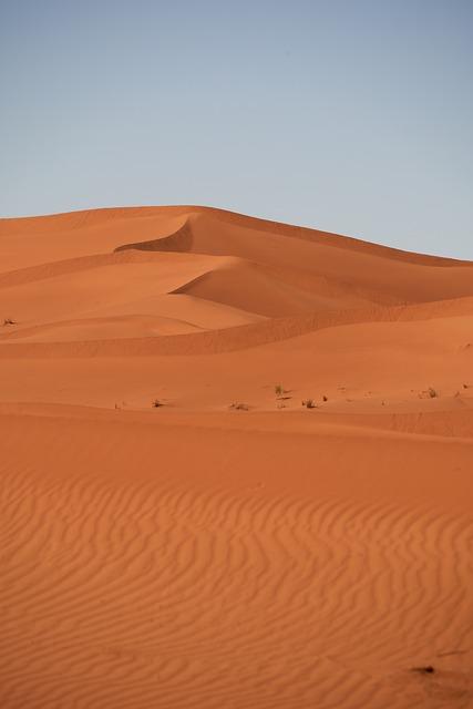 Desert, Sahara, Sand, Landscape, Dry, Hot, Nature, Dune