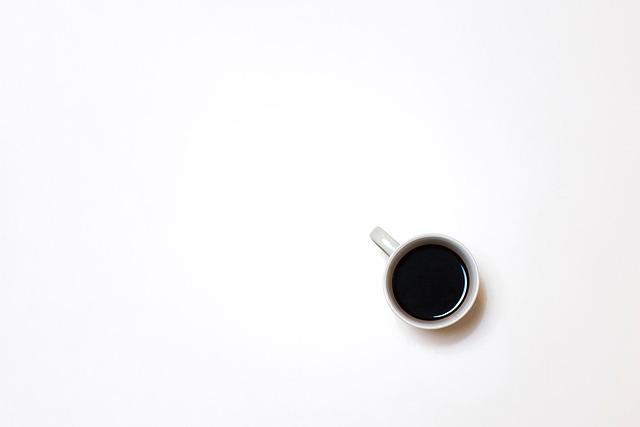 White, Cup, Mug, Black, Coffee, Espresso, Hot