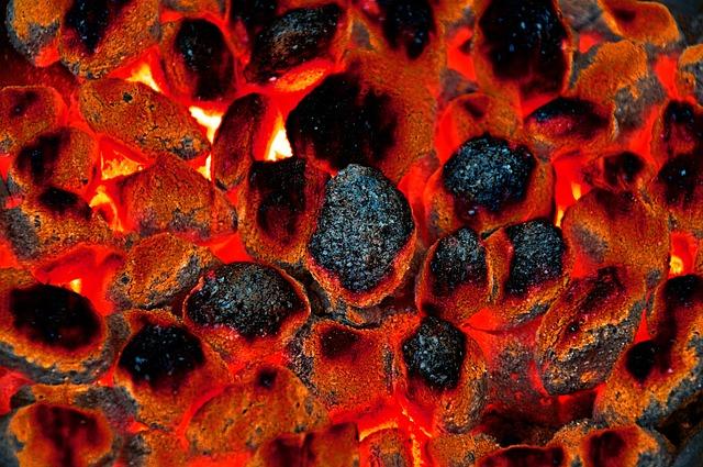 Carbon, Eggs Briquette, Briquettes, Barbecue, Fire, Hot