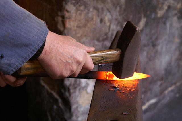 Forge, Craft, Hot, Form, Iron, Blacksmith