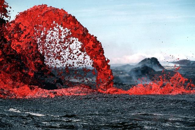 Lava, Magma, Volcanic Eruption, Glow, Hot, Rock