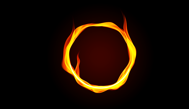 Fire Ring, Ring Of Fire, Fire, Hot, Flame, Ring, Heat