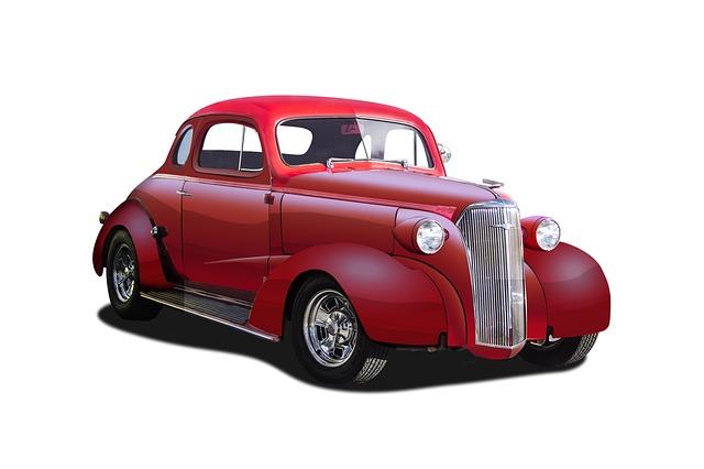 Hot Rod, Fifties, Custom, Automobile, Hotrod, Vehicle