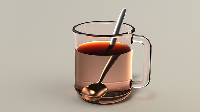 Teacup, Cup Of Tea, Tea, Drink, Beverage, Hot, Spoon