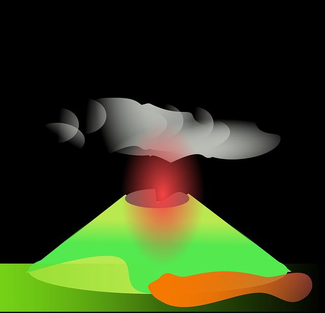 Volcano, Mountain, Mount Etna, Crater, Lava, Hot