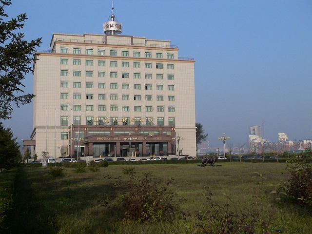 Hotel, Architecture, China, Liaoning, Fengcheng
