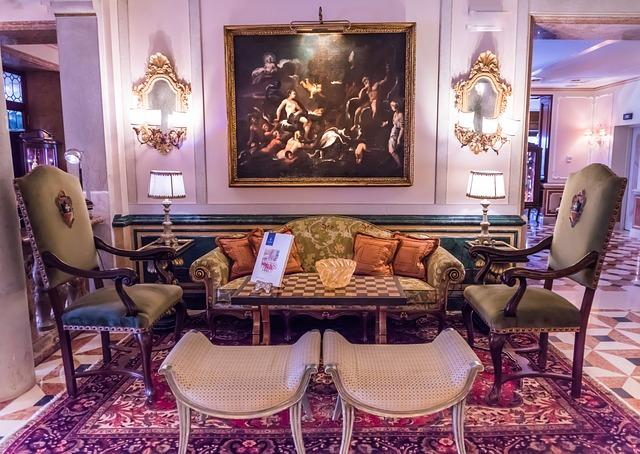 Venice Italy Gritti Palace, Ornate, Art, Hotel, Luxury