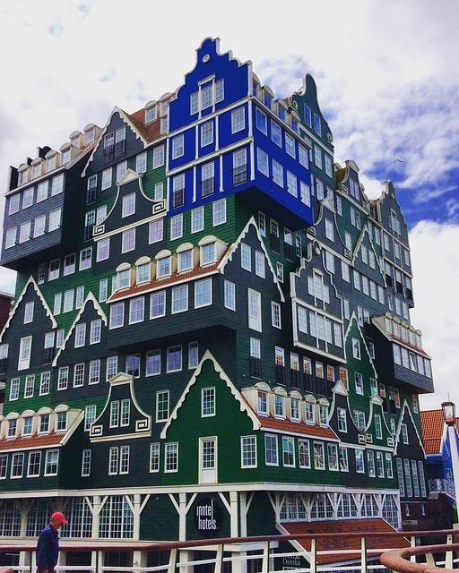 Hotels, Zaandam, Amsterdam, Architecture, Travel