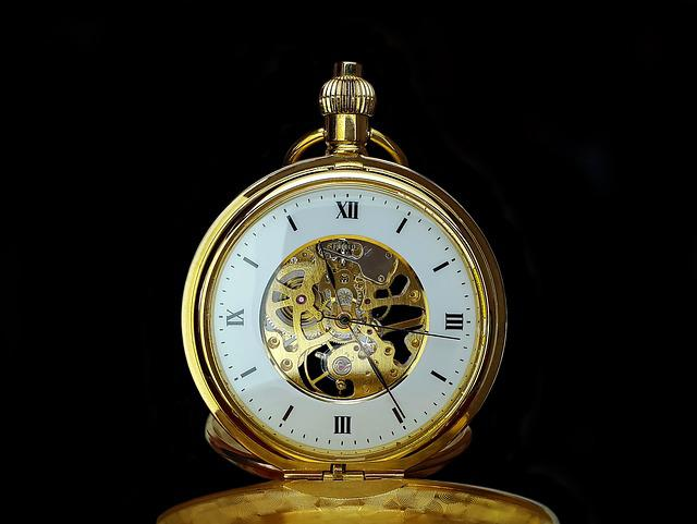 Pocket Watch, Time, Clock, Time Of, Old, Hours