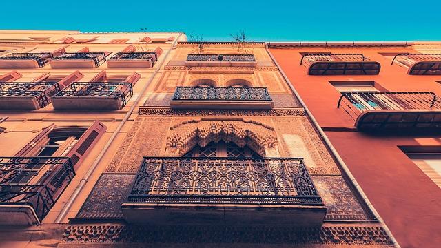 Malaga, House, Andalusia, Architecture, Building