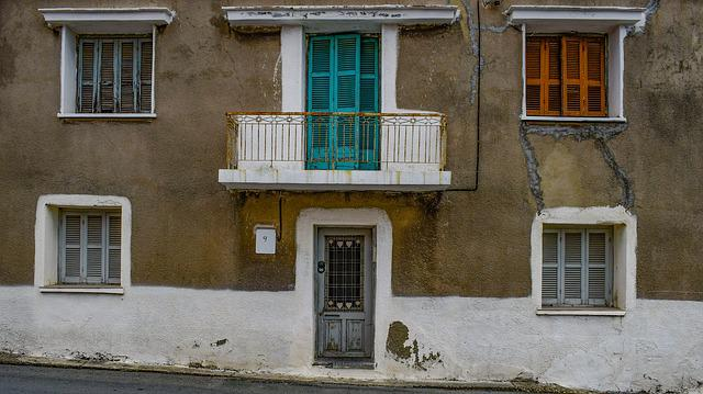Architecture, House, Windows, Door, Facade, Colors