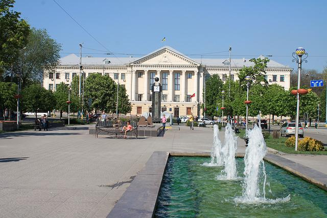 Architecture, House, Street, Megalopolis, Ukraine