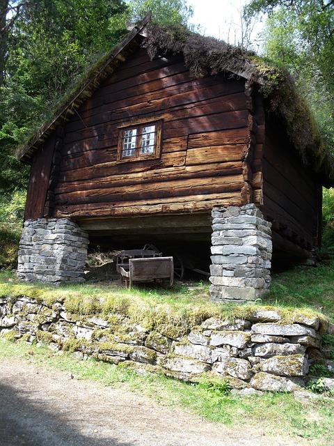House, Wood, Baita, Norway
