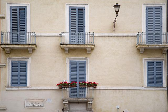 Building, Facade, Home, House, Balcony, Architecture