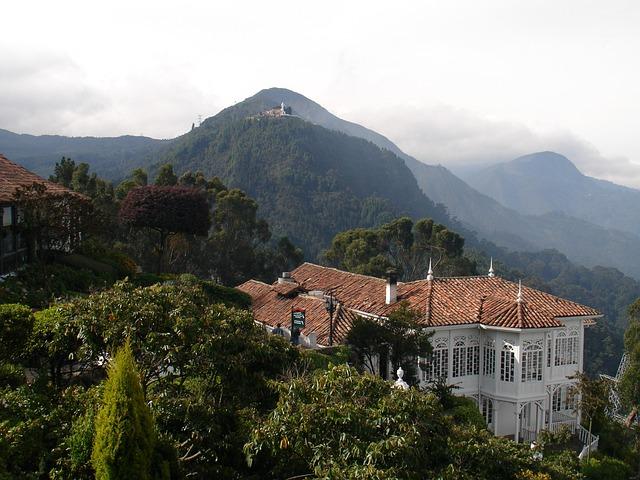 Monserrate, Bogotá, Guadalupe, Moountains, Villa, House
