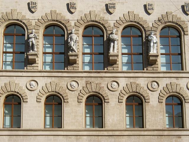 House, Building, Windows, Saarbruecken, Architecture