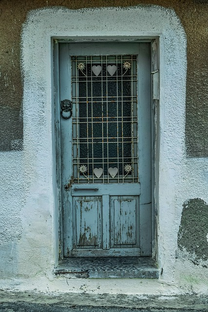 Door, Architecture, House, Entrance, Doorway, Facade
