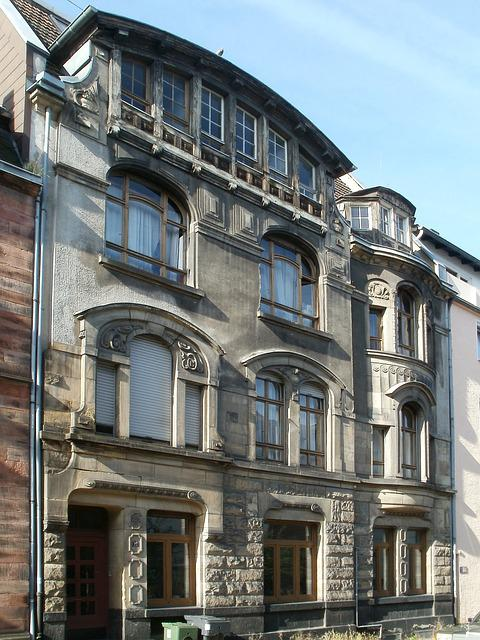 Facade, House, Saarbrucken, Building, Exterior