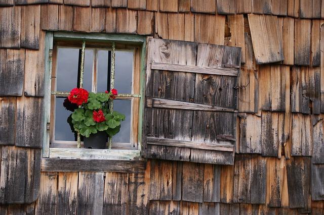Window, Woodhouse, Shingle, House Facade, Wood Shingles