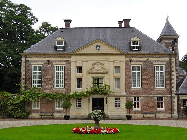 Huis Diepenheim, Netherlands, House, Building, Front