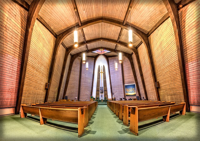 Church, House Of Worship, Chapel, Building, Religious