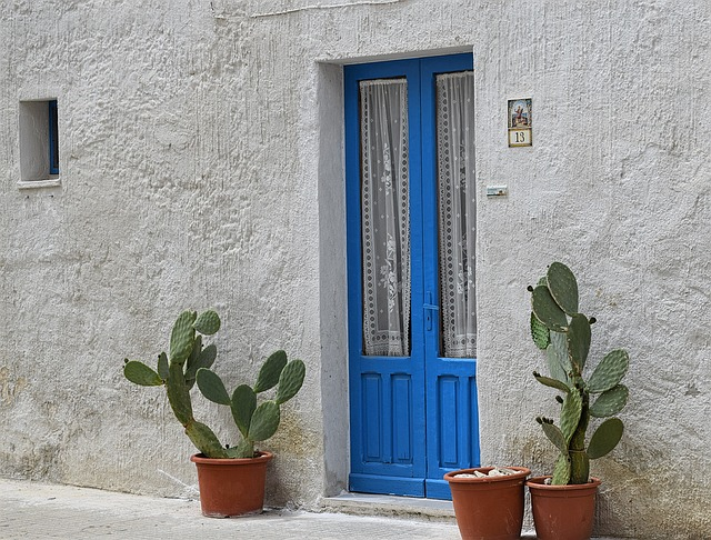 House, Door, Old House, Borgo, Architecture