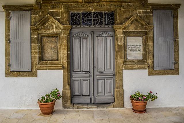 House, Door, Wood, Old School, Architecture