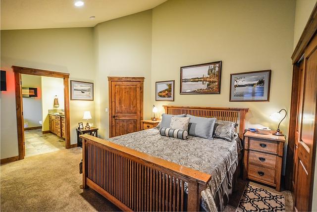 Master Bedroom, Residence, Home, House, Master, Bedroom