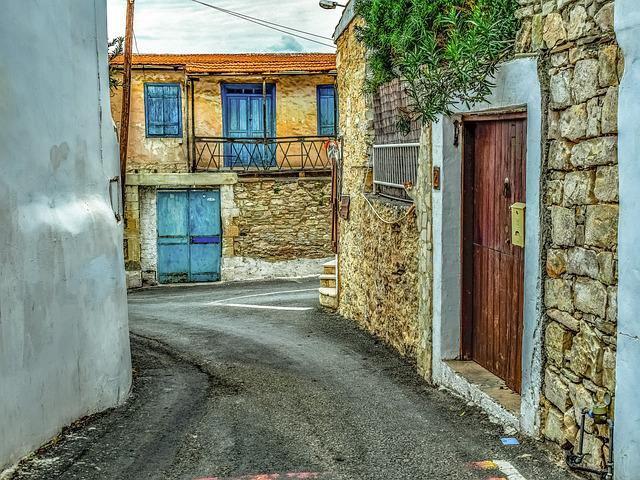 Street, House, Architecture, Traditional, Village, Road