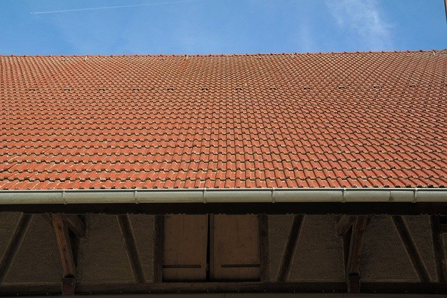 Roof, Gutter, Roofing, Barn, Scheuer, House Roof