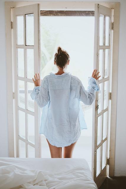 Bed, Bedroom, Door, Girl, House, Indoors, Person, Room