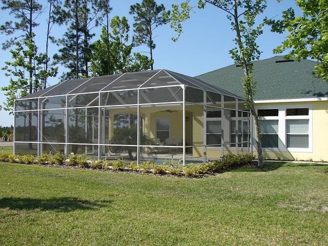 Winter Garden, Sunroom, Porch, Patio, Room, House