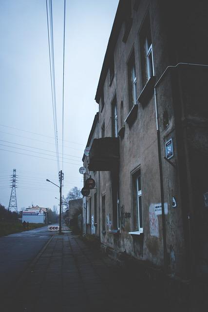 Tenement, House, Street, Vintage, Lodz, Polska, Poland
