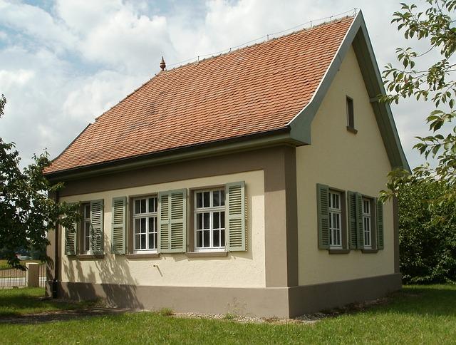 Water Works, Old, Reilingen, Construction, House