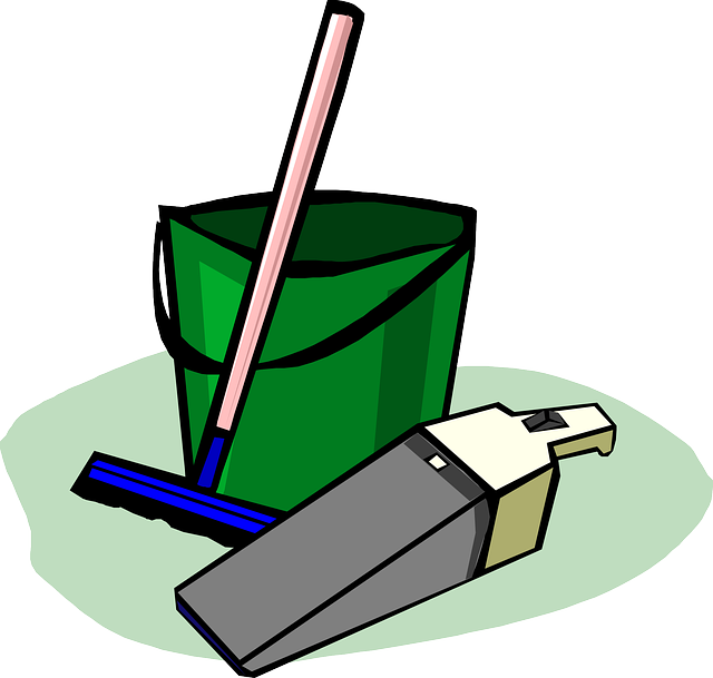 Bucket, Cleaning, Supplies, Housework, Household