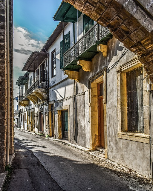 Old Town, Street, Houses, Architecture, Building