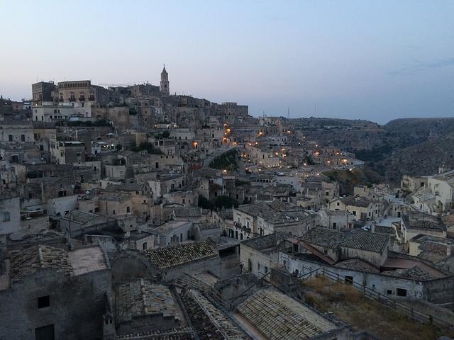 Matera, Basilicata, Sassi, Houses, Caves, Capital