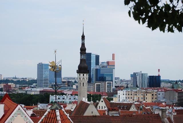 Tallinn, City, Houses, Estonia