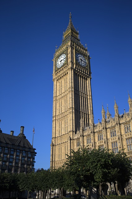 Elizabeth Tower, Houses Of Parliament, London Landmark