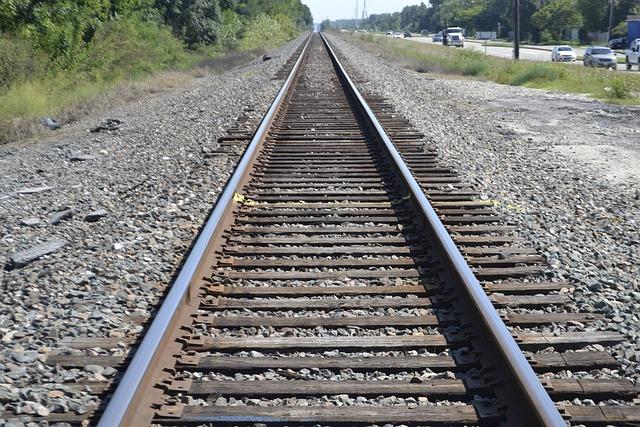 Houston Texas Rail Road Crossing, Caution, Train