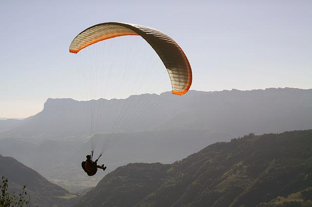Paragliding, Hover, Sports Activities, Sport, Fly