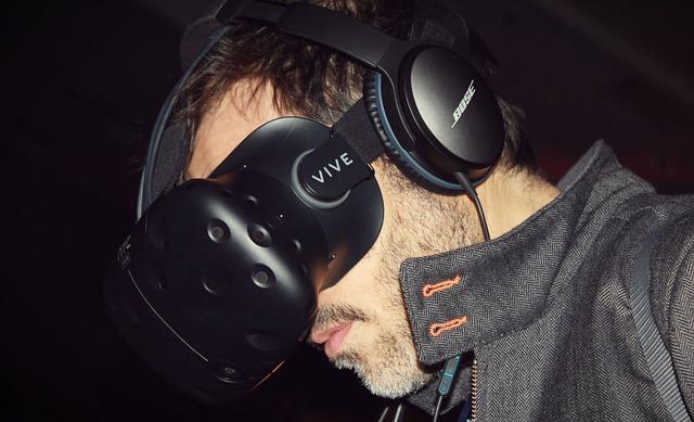 Virtual Reality, Vr, Vr Headset, Vive, Htc